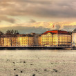 Geneva between lake and mountains - Switzerland — Stock Photo #66011637