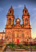 Saint Jacques chuch of Luneville - France, Lorraine — Stock Photo