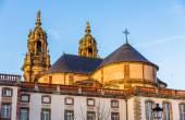 Saint Jacques chuch and the City Hall of Luneville - Lorraine, F — Stock Photo