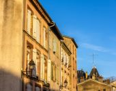 Buildings in the historic center of Luneville - Lorraine, France — Stock Photo