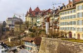 Buildings in the old town of Bern - Switzerland — Stock Photo