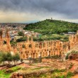 Odeon of Herodes Atticus, an ancient theatre in Athens, Greece — Stock Photo #66020327