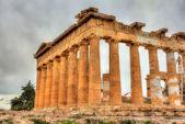 Details of Parthenon in Athens - Greece — Stock Photo