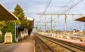 Railway station of Arles - France, Provence-Alpes-Cote d'Azur — Stock Photo