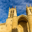 Montpellier Cathedral of Saint Pierre - France, Languedoc-Roussi — Stock Photo #67543335