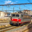 Electric locomotive passing the Montpellier station - France — Stock Photo #67543371