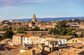 View of the old town of Carcassonne - Languedoc, France — Stock Photo