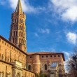 Basilica of St. Sernin in Toulouse - France — Stock Photo #68235569