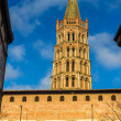 Basilica of St. Sernin in Toulouse, France — Stock Photo #68235589
