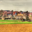 View of Osthoffen, a small town in Alsace - France — Stock Photo #68367391