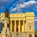 Statue of Maria Cristina in front of the Museo del Prado - Madri — Stock Photo #68597361