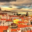 View of the Monastery of Sao Vicente de Fora in Lisbon — Stock Photo #68712291