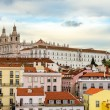 View of the Monastery of Sao Vicente de Fora in Lisbon — Stock Photo #68712323