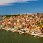 View of Porto over the river Douro - Portugal — Stock Photo #68798165