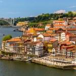 View of Porto over the river Douro - Portugal — Stock Photo #68798193