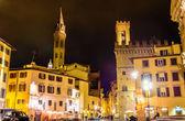 Badia Fiorentina und Bargello in Florenz - Italien — Stockfoto