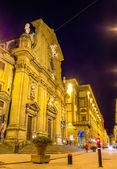 San Gaetano, a Baroque church in Florence, Italy — Stockfoto