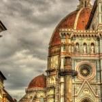Santa Maria del Fiore, the main church of Florence - Italy — Stock Photo #70481175