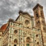 Santa Maria del Fiore, the main church of Florence - Italy — Stock Photo #70481193