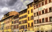 Buildings in the historic centre of Florence - Italy — Fotografia Stock
