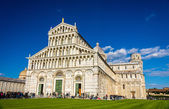 The Cathedral and the Tower of Pisa - Italy — Stock Photo