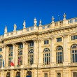 Facade of the Palazzo Madama in Turin - Italy — Stock Photo #71222713