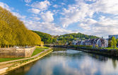 View of Besancon over the Doubs River - France — Stockfoto