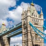 Tower Bridge, a symbol of London - England — Stock Photo #73004237