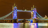 View of Tower Bridge in the evening - London — Stock fotografie
