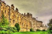 Walls of Windsor Castle near London, England — Stock Photo