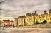 Walls of Windsor Castle near London, England — Stock Photo