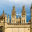 Walls of All Souls College in Oxford - England — Stock Photo #73903269