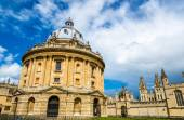 Radcliffe Camera, the library of Oxford Univesity - England — Stock Photo
