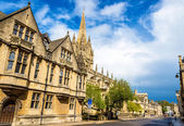 University Church of St Mary the Virgin in Oxford, England — Stock Photo