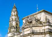 Details of City Hall of Cardiff - Wales, Great Britain — Stock Photo