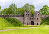 North Gate of Cardiff Castle - Wales — Stock Photo