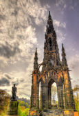 The Monument to Sir Walter Scott in Edinburgh — Stock Photo