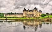 Chateau de la Roche Courbon in Charente-Maritime department of F — Stock Photo