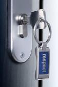 Key of respect — 图库照片