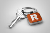 Key of Section R — Stock Photo