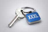 Key of XXXL size — Foto de Stock