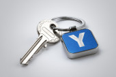 Key of Section Y — Stock Photo
