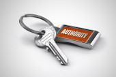 Key of Authority — Foto Stock