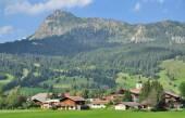 Village of Tannheim,Tannheim Valley,Tirol,Austria — Stock Photo