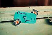 Thank you — Stock Photo