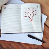 Bright idea — Stock Photo