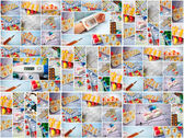 Collage of medical — Stock Photo