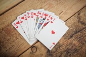 Guessing on cards — Stock Photo