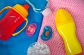 Baby accessories — Stock Photo