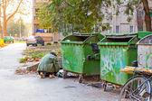Stedelijke armoede — Stockfoto